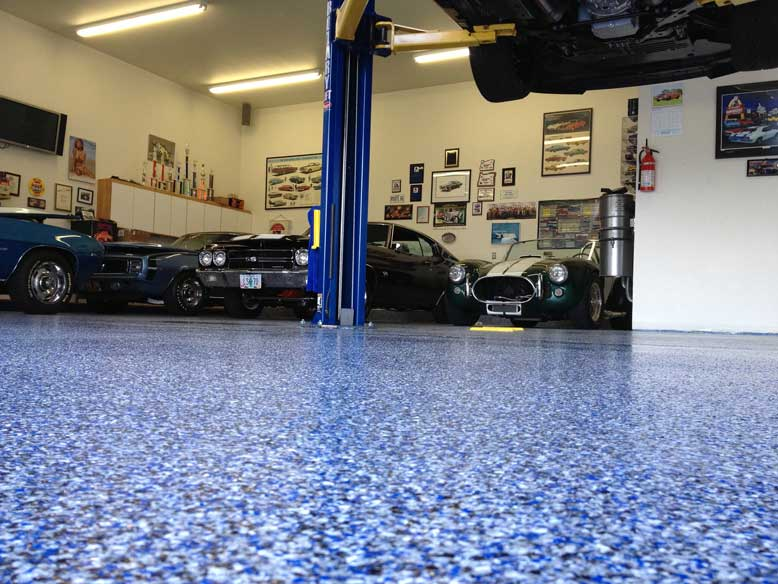 All the Different Epoxy Flooring Styles